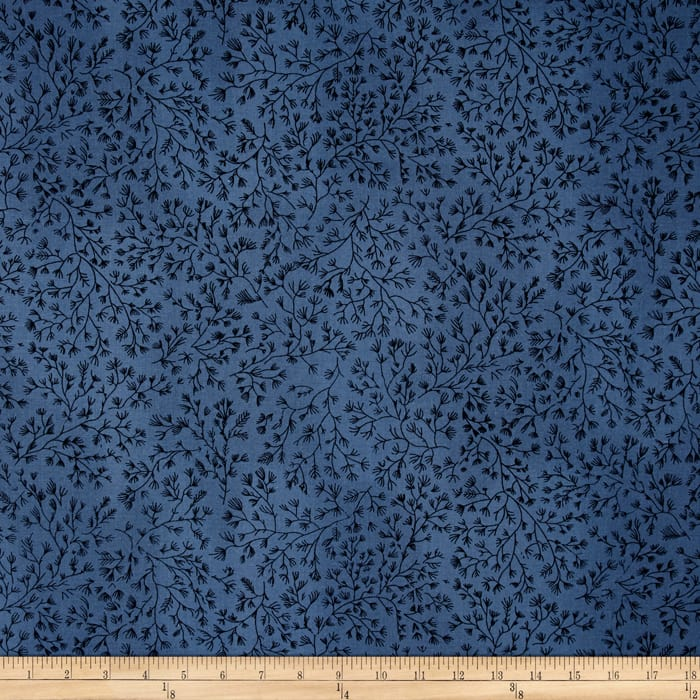 110 In. Wide Quilt Back Navy