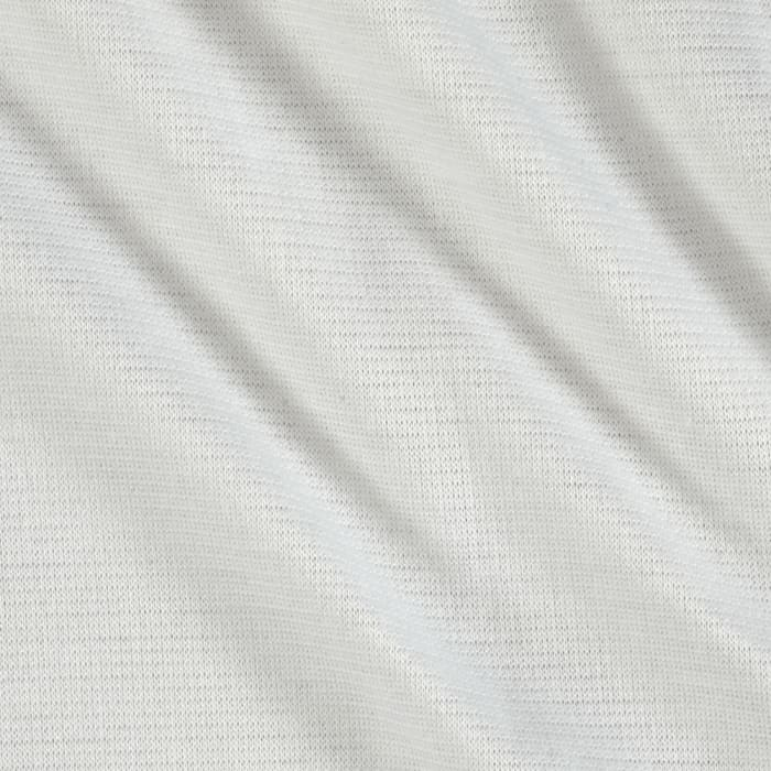 Shimmer Ponte de Roma Knit Solid White/Gold