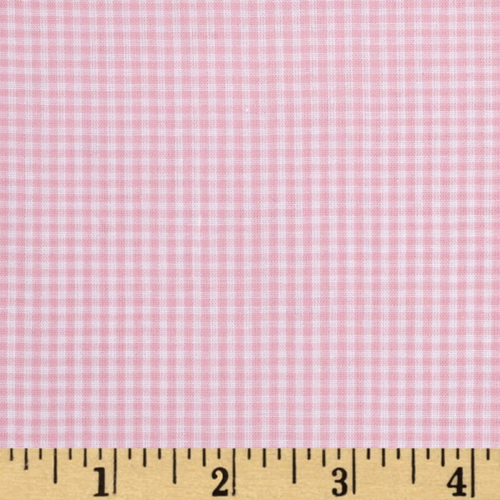 """Imperial 60"""" Gingham 1/16"""" Light Pink"""