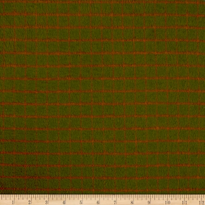 Primo Plaids Flannel Plaid Green/Red