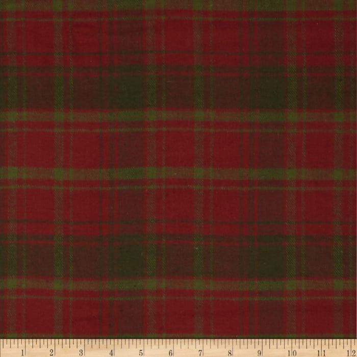 Primo Plaids Flannel Christmas II Plaid Plaid Red/Green