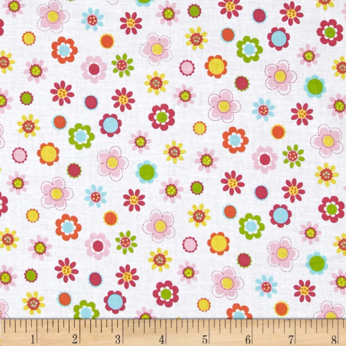 Whoo Loves You Floral White