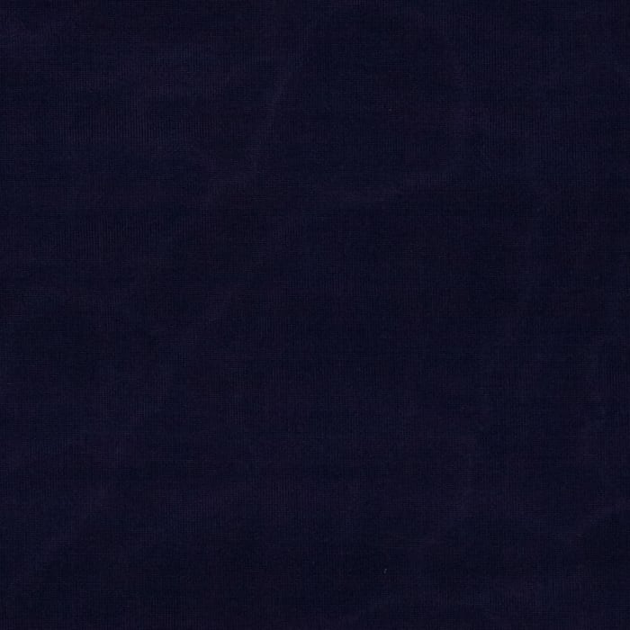 Stretch ITY Silky Jersey Knit Solid Deep Indigo