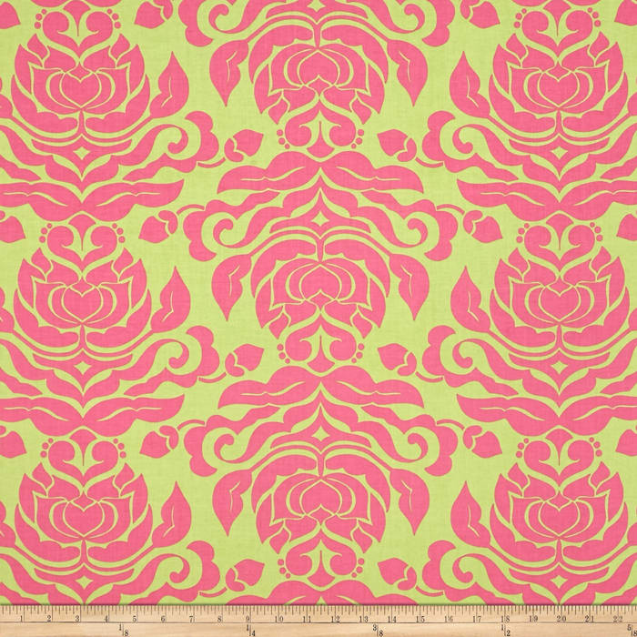 Riley Blake Extravaganza Damask Green