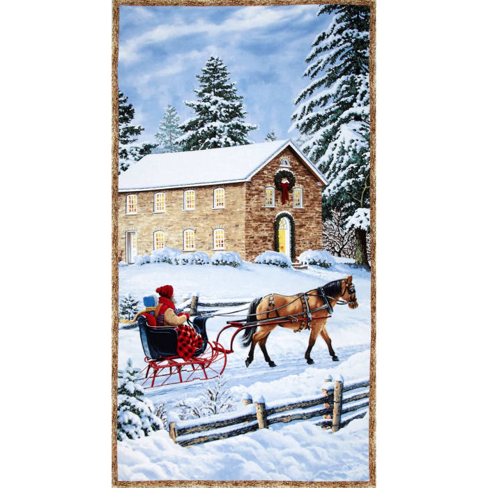 Sleigh Ride Panel Multi