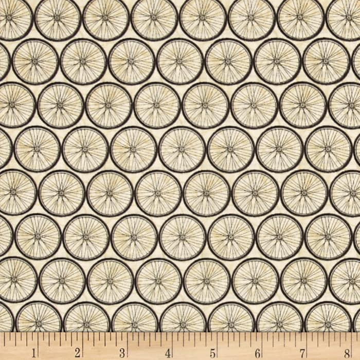 A Ticket in Hand Wheel Grid Ivory
