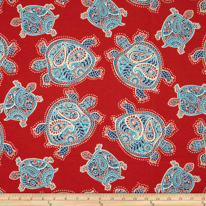 Tommy Bahama Indoor/Outdoor Tranquil Turtles Lava