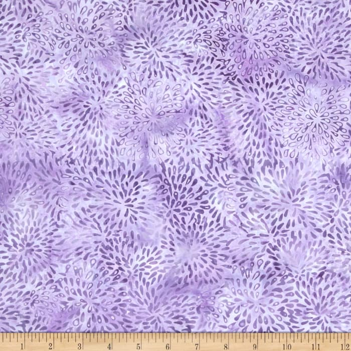 Island Batik Delphinium Amoeba Splash Light Purple
