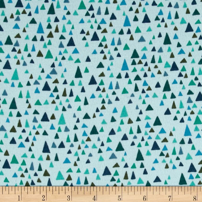 Valori Wells In the Bloom Knit Triangles Turquoise