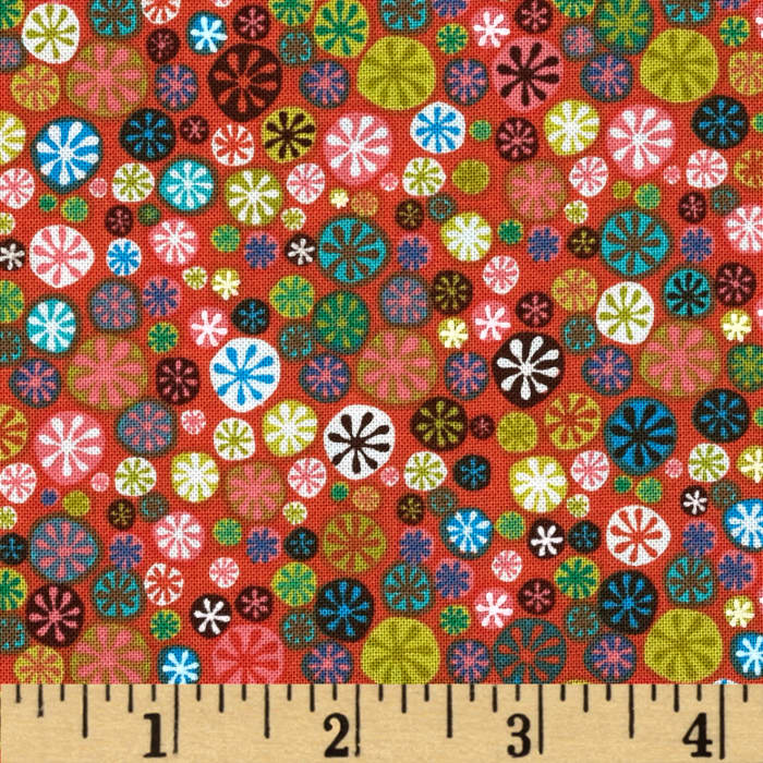 Nod to Mod Happy Buttons Coral