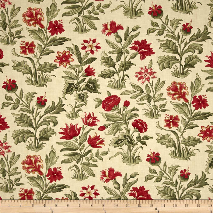 Moda Under the Mistletoe Flourish Linen