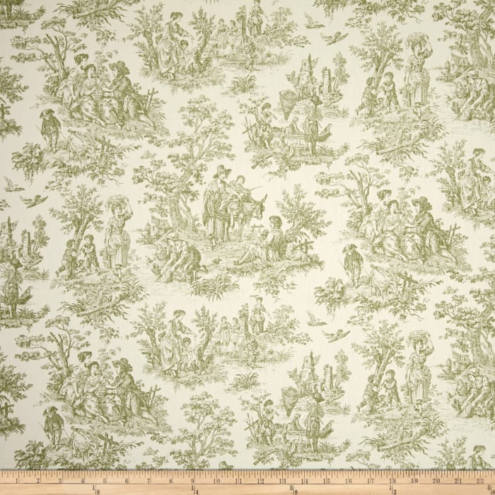 Waverly Charmed Life Toile Tarragon