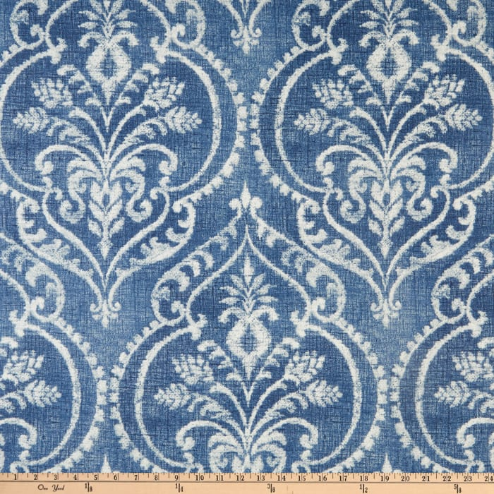 Swavelle Mill Creek Dalusio Damask Denim Discount