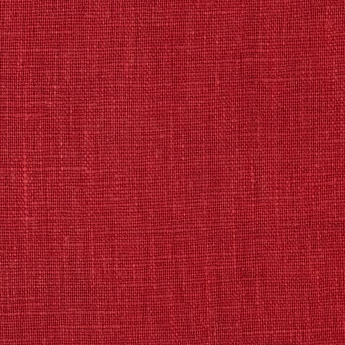 European 100% Washed Linen Red Oak