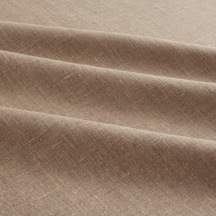 European 100% Washed Linen Natural