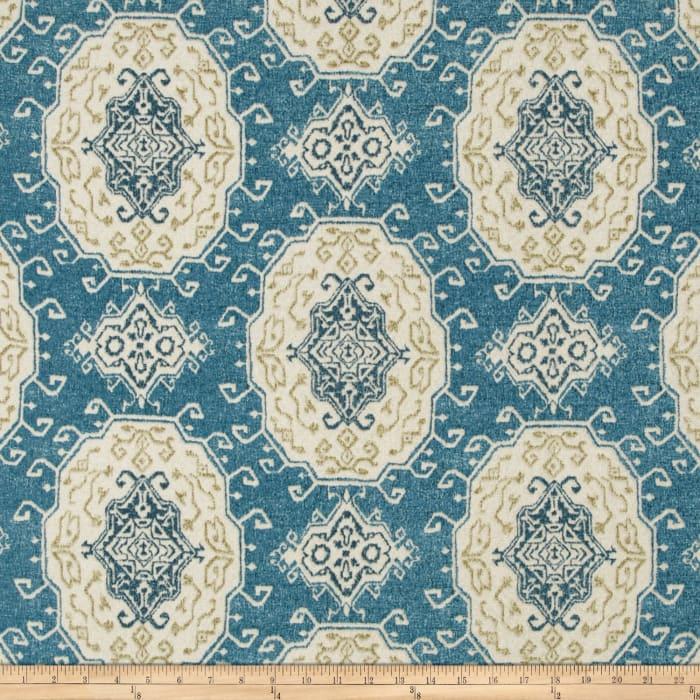 Tempo Indoor/Outdoor Tribal Medallion Blue