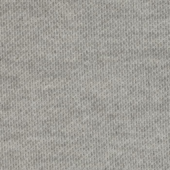 Pique French Terry Knit Heather Grey