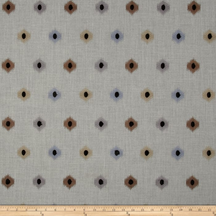 Swavelle/Mill Creek Embroidered Cleron Storm