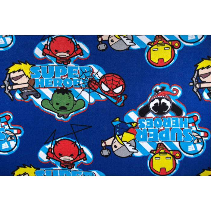 Marvel Kawaii Fleece Super Heroes Blue