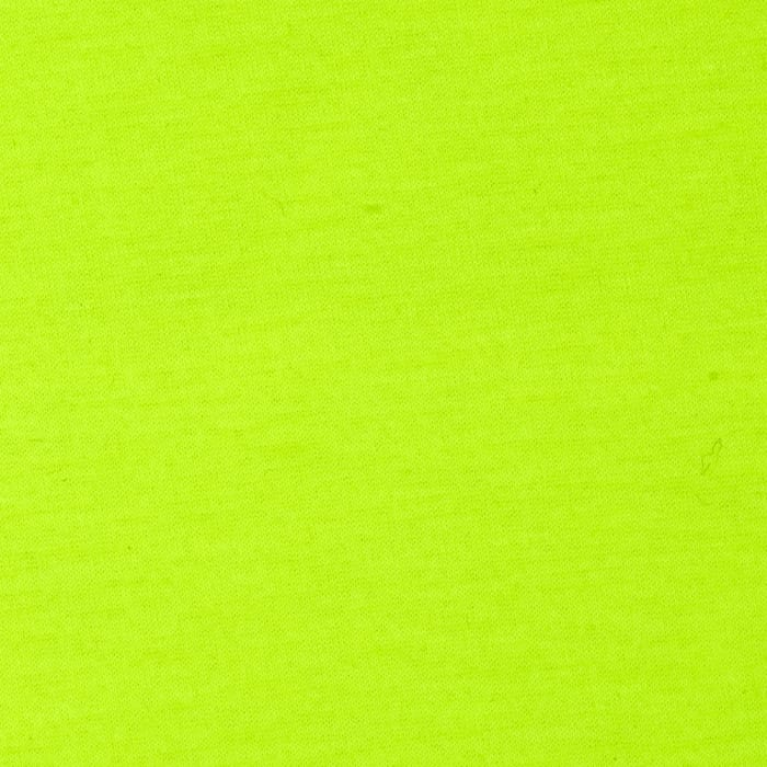 Spun Poly Jersey Knit Solid Neon Lime