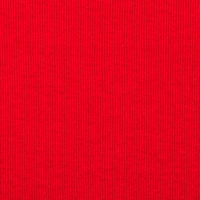 T-Knit Ribbing Red
