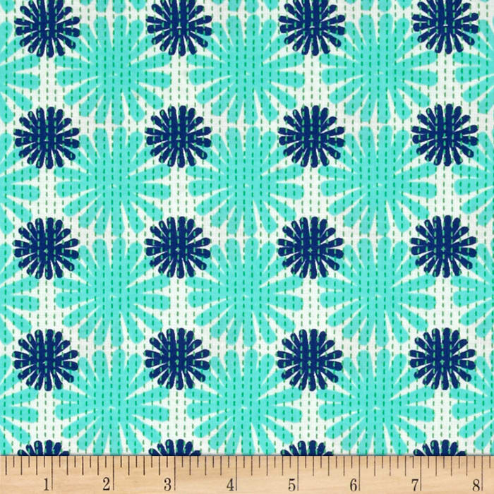 Moda Good Karma Burst Aqua - Navy