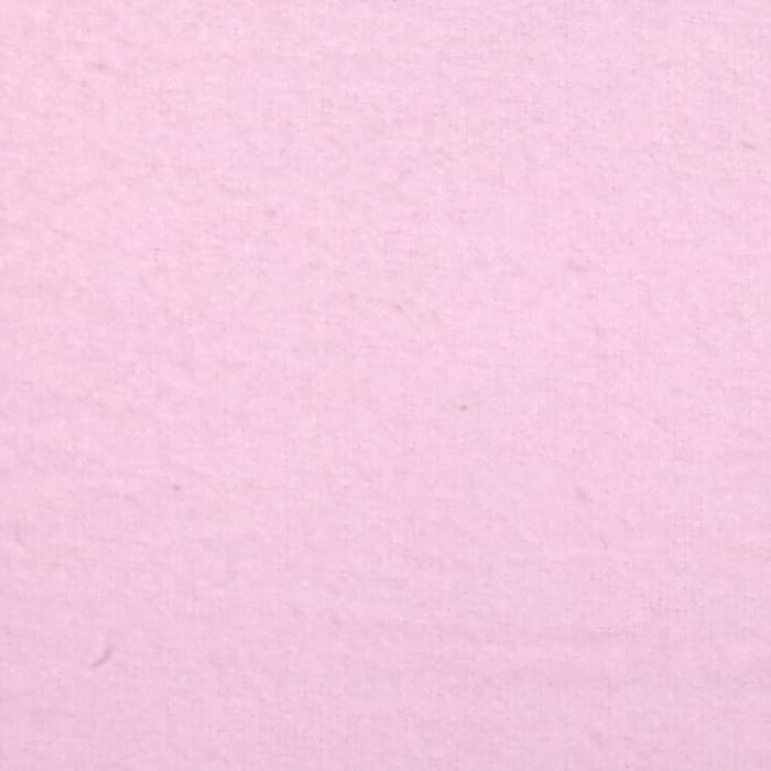 Fluffy Solids Flannel Pink