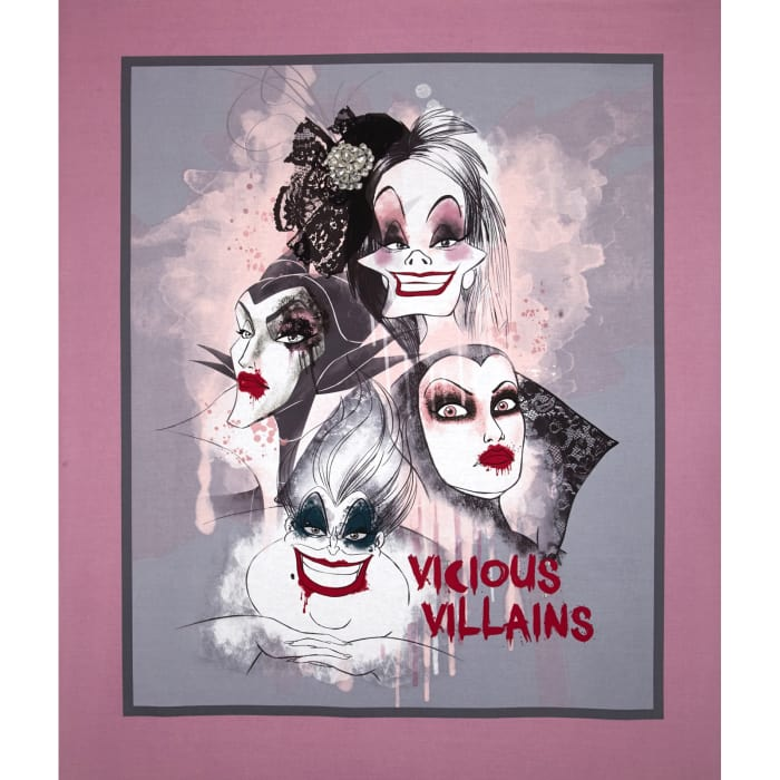 Disney Villians Vicious Villains Panel-36