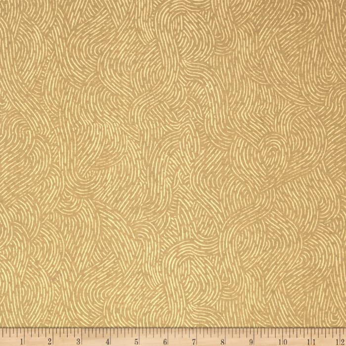 """110"""" Wide Flannel Quilt Backing Seacoast Sand"""