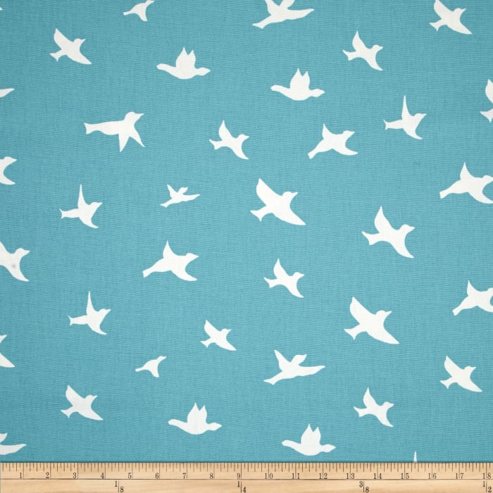 Premier Prints Bird Silhouette Coastal Blue