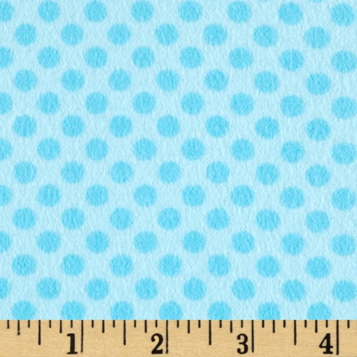 Kanvas Breezy Baby Flannel Lullaby Aqua/Turquoise