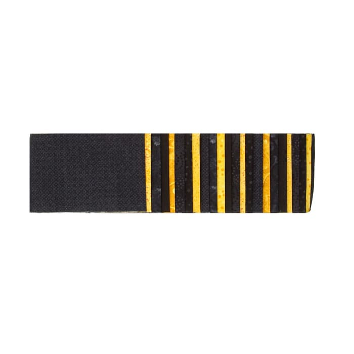 "#1 Fan Essential Gems 2.5"" Strips Black/Gold"