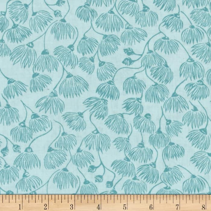 Cloud 9 Organic Landscape White Mallee Turquoise