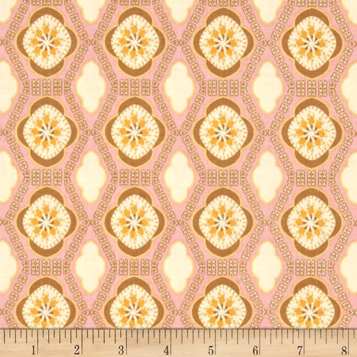 Riley Blake Chatsworth Tile Pink