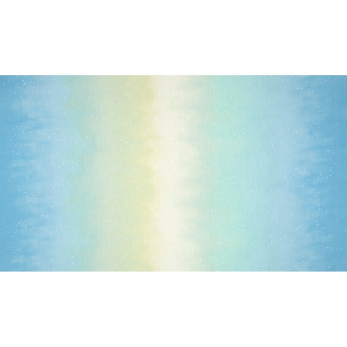 Enchanted Pines Sky Ombre Double Border Sky