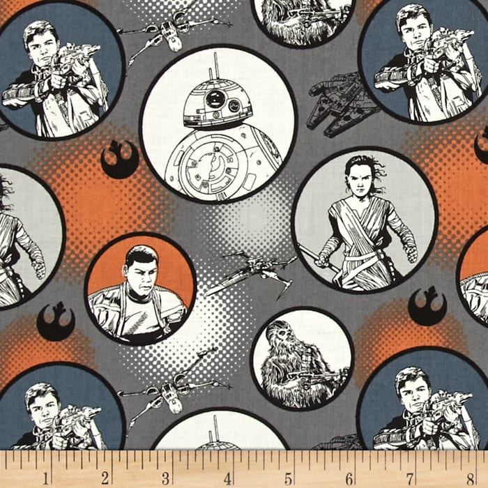 Star Wars The Force Awakens Badges Iron