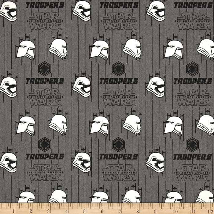 Star wars the force awakens storm trooper iron discount for Star wars fabric