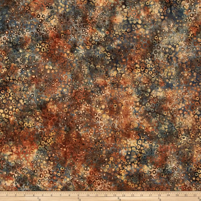 Bali Batiks Handpaints Static Dots September