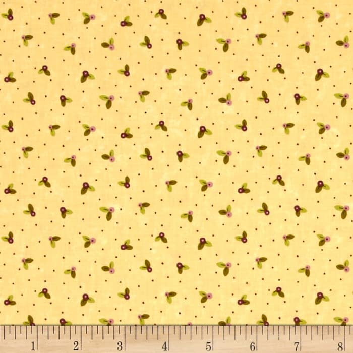 Moda Prints Charming Buds Cream