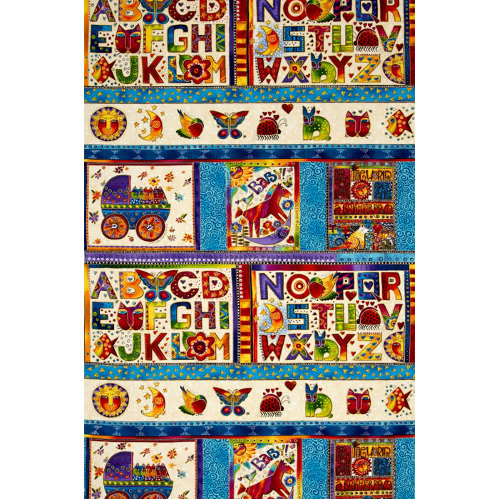 Laurel Burch Laurel Land 24 In. Metallic Panel