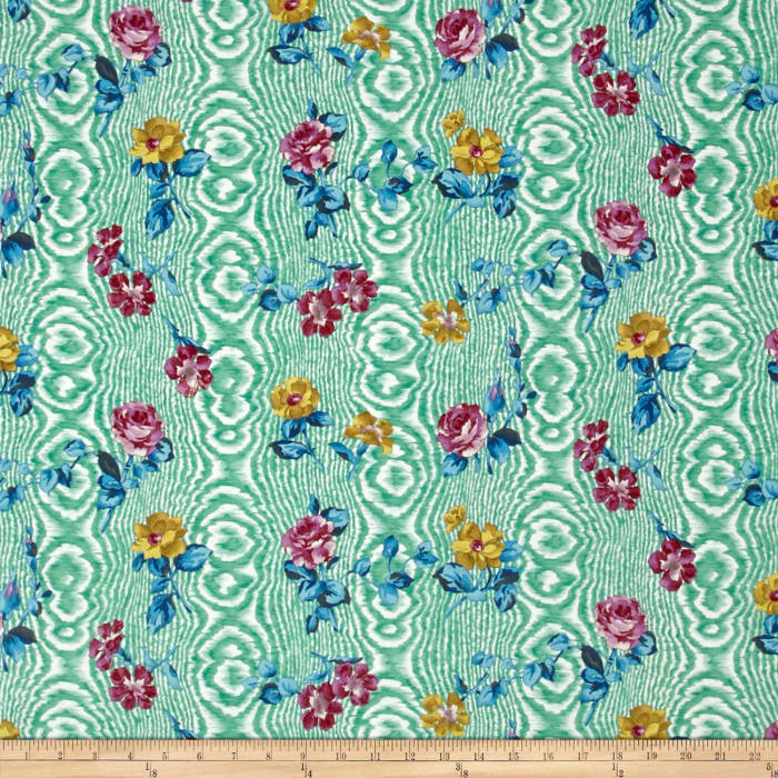 Tracy Porter Ardienne Tossed Floral Green