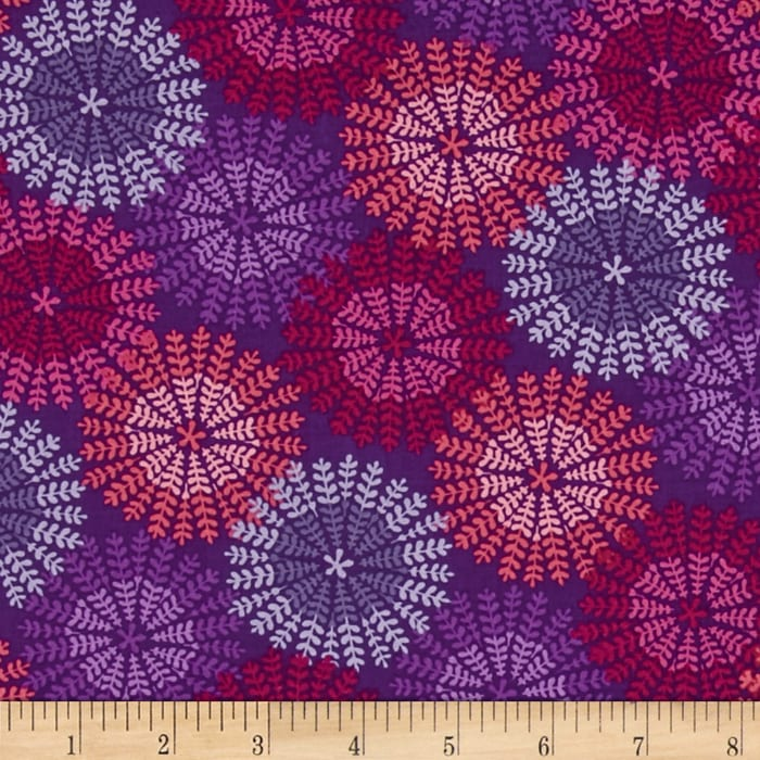 Bonita Spring Medallion Purple