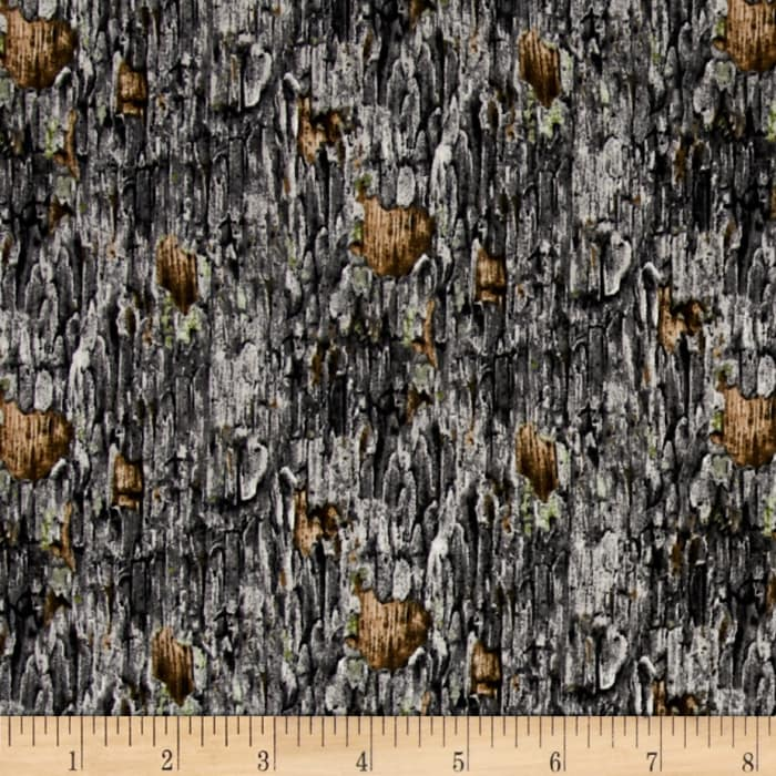 Owl Families Tree Bark Gray