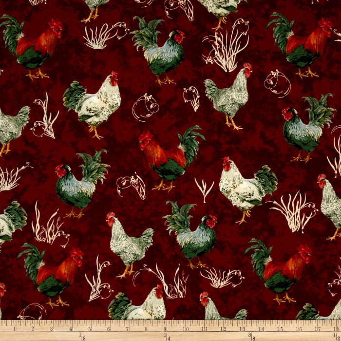 Penny Rose French Rooster Red