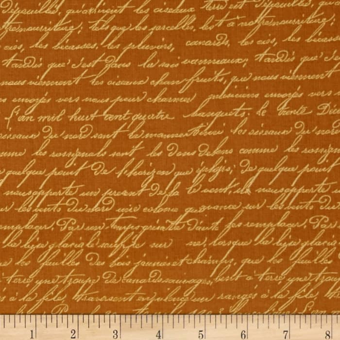 Penny Rose French Rooster Script Gold