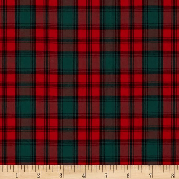 Imperial Tartan Plaid Brodie Red/Green