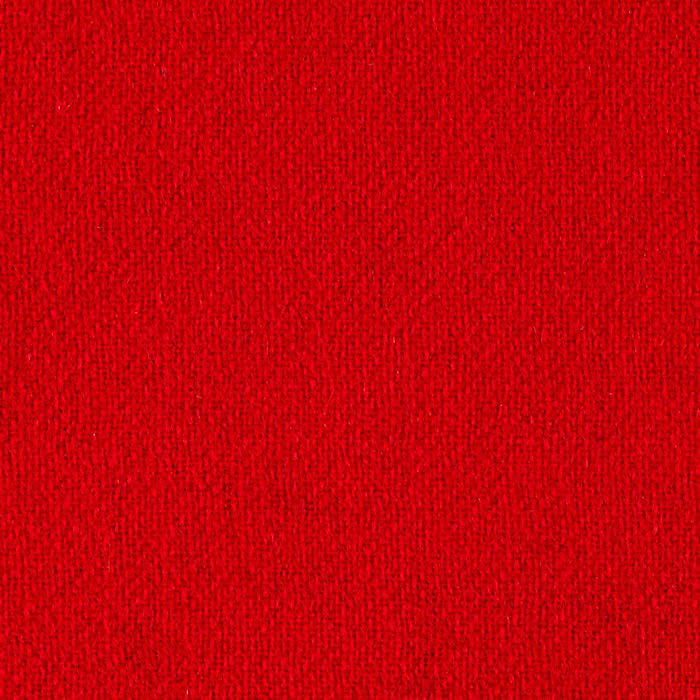 Wool Flannel Solid Red