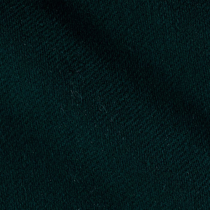 Wool Flannel Solid Green