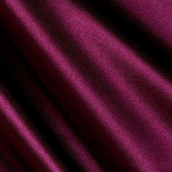 Charmeuse Satin Purple Wine