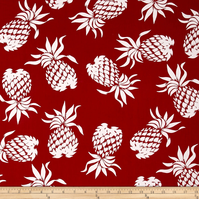 Hoffman Large Pineapples Red